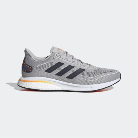 Adidas Supernova Sapatos Cinza Dois/Collegiate Navy/Signal Orange FV6031